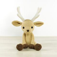 Deer amigurumi pattern by Kristi Tullus