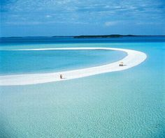 La plage de Musha Cay, Bahamas