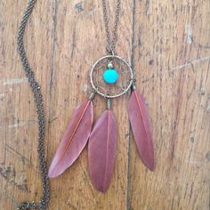 Dream catcher necklace ♡ put free people for exposure. Free People Jewelry Necklaces
