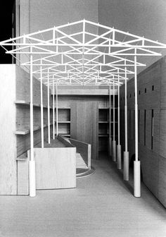 Public library in Orihuela, Alicante. Spain 1992. Alberto Campo Baeza in collaboration with Pedro Valle López. Conceived of as a courtyard building.