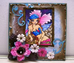 Carribean Treasure, Sweet Pea Stamps Blog Hop by Angela Sowell - Cards and Paper Crafts at Splitcoaststampers