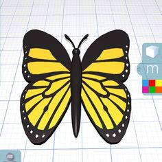 Having fun #3Dmodeling #butterflies in the garden tday using Morphi's experimental PhotoAlbum tools + Shapes tool. #3dprinting #design #3ddesign #fun #butterfly #nature #ipad #ipadmini #create #creative #learn #steam #science #shapes #geometric #geometry #maker #makered #makermovement #3dprinter #3dmodel #3dprint #designoutside #summer #draw