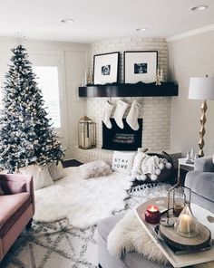 Never too soon for Christmas decor. I had a bunch of you guys ask about some of my decor from Insta Stories. My stockings are currently on sale with free personalization. For all decor, find here: http://liketk.it/2tl58 #liketkit @liketoknow.it #LTKholidayathome