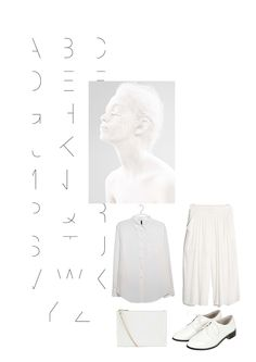 #Vernez #editorial #collage. #Fashion, #insporation, #outfit, #style, #white, #typography, #brogues, #shirt, #minimal, #minimalist