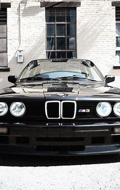 E30 BMW M3. Started it all. Quite possibly the best M car ever.