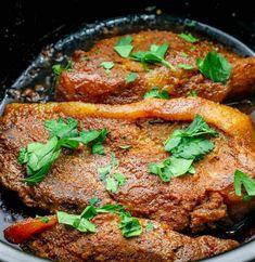 Keto Easy Slow Cooker Pork Steaks Pork Chops Recipe