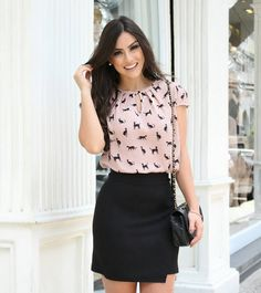{New Collection} Details! Business Casual Outfits, Office Outfits, Classy Outfits, Cute Outfits, Blouse Styles, Blouse Designs, Fashion Outfits, Womens Fashion, Fashion Trends