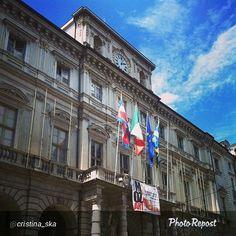 """#Torino raccontata dai cittadini per #inTO. Foto di cristina_ska """"Ecco la sede principale del Nostro comune!! """""""