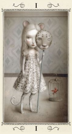 Nicoletta Ceccoli tarot cards - The Magician