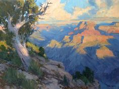 Bill Cramer - Greeting the Sunrise - Oil - Painting entry - March 2016 | BoldBrush Painting Competition