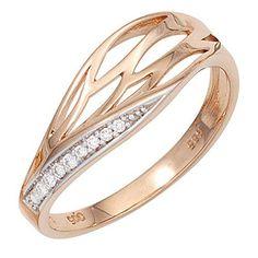 Dreambase Damen-Ring teilrhodiniert 14 Karat (585) Rotgol... https://www.amazon.de/dp/B00N5BSMLU/?m=A37R2BYHN7XPNV