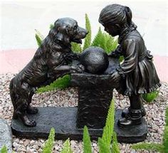 Image detail for -Outdoor Water Fountains Garden Statues, Garden Sculpture, Lion Sculpture, Lake Garden, Garden Art, Garden Ideas, Outdoor Pictures, Water Pictures, Texas Gardening