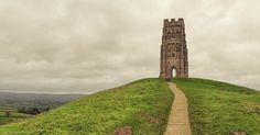 Moody blustery in fact nearly lost a 3 year old the wind was so strong day at the Tor. As close to #wintersolstice as possible! #glastonbury #glastonburytor #tor #somerset #weather #solstice #iphone #snapseed