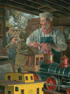 """Walt's Magical Barn"" - by Bob Byerley,  (1941, American)"