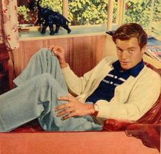 1950s mens fashion - Robert Wagner