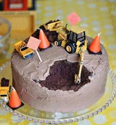 Cute cake idea for a boy