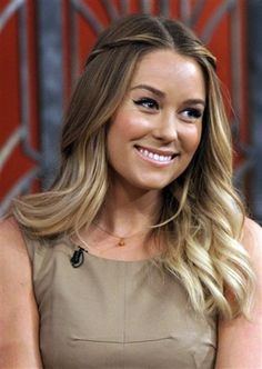 AP File Photos // lauren conrad's highlights underneath