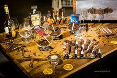Corner esclusivo al matrimonio. Cioccolato, sigari e distillati.