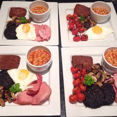 Full Scottish all round this morning.