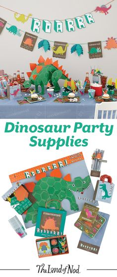 Planning a birthday party or special celebration? Add some kid-friendly dinosaur party decorations for a festive update.