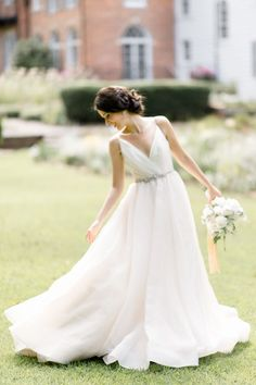 Photography: Caroline Lima Photography   carolinelima.com Wedding Dress: Blush By Hayley Paige   www.loveblushbridal.com/   View more: http://stylemepretty.com/vault/gallery/37863