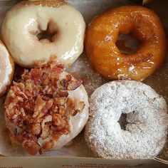 This mornings breakfast was from world famous Duck Donuts and the Peanut Butter Bacon donut was ah-mazing!