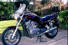 One of my wife's previous bikes. Suzuki VX800