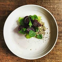 Home Of Bespoke Harvest. Our Little Restaurant With An Emphasis On Fresh Local Produce. Reservations Ph: 52366446 Food By: @chefsimonstewart Beetroot Black Garlic & Buckwheat. ____________________________________ @bespokeharvest #eat #drink #stay #accommodation #dinner #wine #food #otways #visitvictoria #greatoceanroad #forrest #ride #escape #weekend by forrestguesthouse