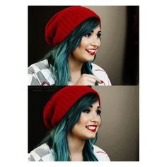 The absolutely BEAUTIFUL Demi Lovato Demi Lovato ❤ liked on Polyvore featuring accessories, hair accessories, demi, demi lovato, hair, celebrities y red hair accessories
