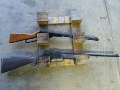 Reclaimed (bb) gun rack