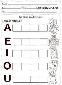 Vamos treinar as vogais