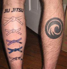 BJJ tattoo ideas and common places in the BJJ world. From jiu jitsu kanji tattoos, team tattoos and more creative tattoos Tattoo Jiu Jitsu, Bjj Tattoo, Kanji Tattoo, Life Tattoos, Tattoos For Guys, Tatoos, Judo, Bjj Memes, Ju Jitsu