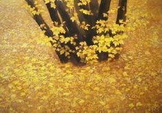 東山魁夷 Japanese Art Styles, Japanese Artists, Japanese Style, Rodin, Autumn Painting, Korean Art, Painting Gallery, Japanese Painting, Japan Art