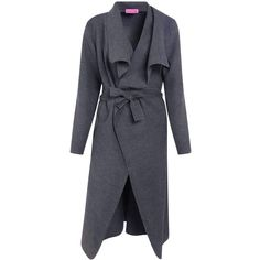 Boohoo Kate Belted Shawl Collar Coat | Boohoo (1.465 RUB) ❤ liked on Polyvore featuring outerwear, coats, duster coat, longline coat, longline duster coat, shawl collar coats and belted wrap coat