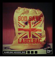 LABELBAC goodie bag :)