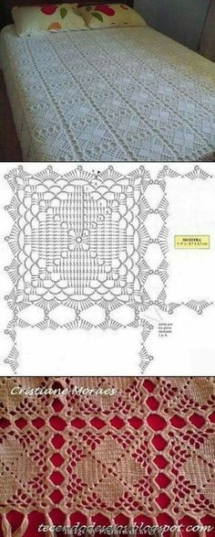 Transcendent Crochet a Solid Granny Square Ideas. Inconceivable Crochet a Solid Granny Square Ideas. Crochet Diagram, Crochet Chart, Crochet Motif, Crochet Designs, Crochet Doilies, Crochet Patterns, Plaid Au Crochet, Thread Crochet, Crochet Stitches