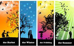 Wir wollen Deutsch lernen: die Jahreszeiten