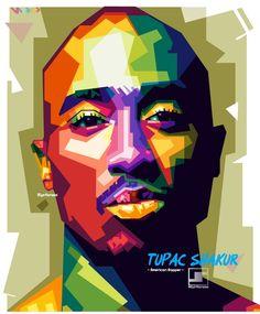 Tupac shakur in wpap By. Arte Hip Hop, Hip Hop Art, Pop Art Portraits, Portrait Art, Vector Portrait, Pop Art Dibujos, French Bulldog Drawing, Bob Marley Art, Tupac Art