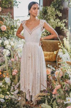 Le Gauze Lace Kerchief Dress
