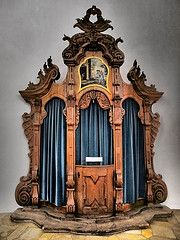 wieskirche church germany/images   Wieskirche - Confessional (sharko333) Tags: church germany bayern ...