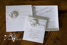 partecipazione nozze con scatola di Bibart su Etsy - wedding invitation https://www.facebook.com/partecipazioni.bibart?ref=hl