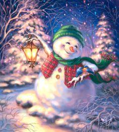 'Snowy Friends' by Dona Gelsinger