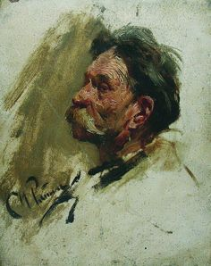 Портрет мужика. 1880-е. Илья Ефимович Репин