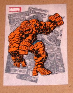 Marvel Bronze Age (Rittenhouse 2012) Classic Heroes Card CH6 Thing EX