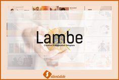 Lambe Presentation Template by Slientslide on @creativemarket
