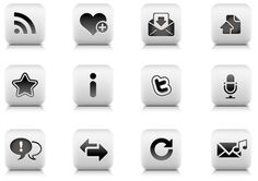 Web Icons Tile-Style