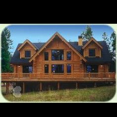 Log cabin home-absolutely love this one!
