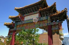 Image detail for -Chinese Imperial Gate, Chinatown, Manchester, England, United Kingdom, Europe