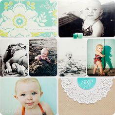 Project life pages + printables. #projectlife #scrapbooking