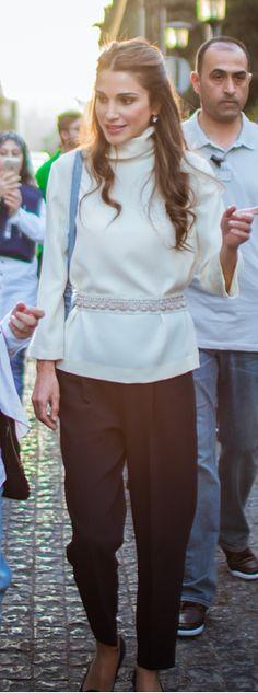 August 16, 2015, Queen Rania